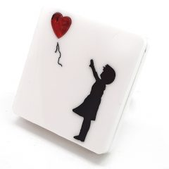 anello Banksy balloon girl