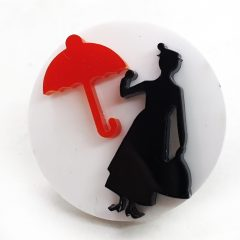 Anello Mary Poppins e ombrello
